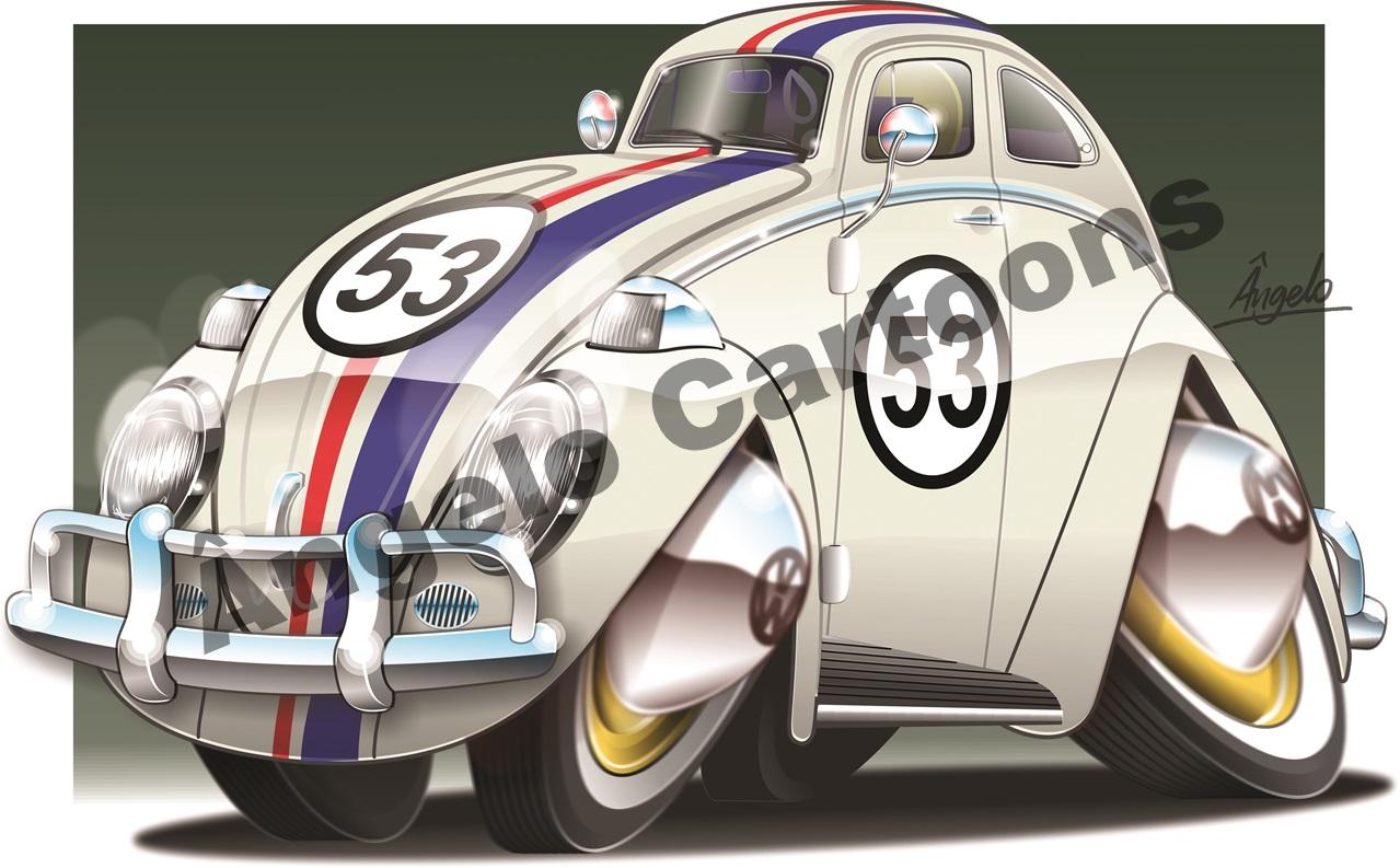 Preferência Caricaturas de Carros – Ângelo Cartoons CC52